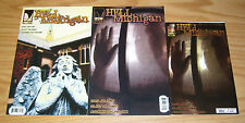 Hell, Michigan #1-2 VF/NM complete series + numbered ashcan (limited to 1,000)