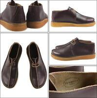 Clarks Originals Mens **  DESERT TREK **  Horween Wine Leather ** UK 6,7,8 G
