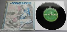 """Yachts - There's A Ghost In My House UK 1980 Radar 7"""" P/S"""