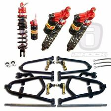 ELKA LEGACY SHOCKS ALBA STD or LONG TRAVEL A-ARMS SUSPENSION HONDA 400EX TRX