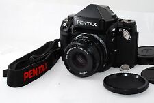 "Pentax 67II Medium Format SLR Film Camera with 90 mm f/2.8  ""Very Good"" #1001"
