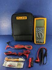 New Fluke 287 Industrial Electronic Logging Multimeter, Soft Case, More