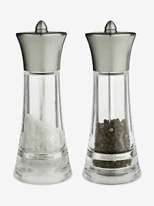 Cole & Mason Monaco Salt & Pepper Mill Stainless Steel Gift Set