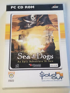 Seadogs: An Epic Adventure at Sea, PC CD-ROM, Pirate Strategy Game