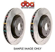 DBA 4000 T3 Slot REAR DISC Brake Rotors 290mm IMPREZA WRX STI FORESTER LIBERTY