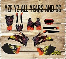 YAMAHA YZ YZF 85 125 250 450 MOTOCROSS FULL GRAPHICS KIT-DECALS-STICKERS-SKULL