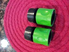 Lawn Mower Deck Wash TWO Hose Attachment Quick Connect Clean Blades Replacement