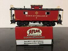 HO Atlas Morristown & Erie NE-6 Steel Caboose Master Line