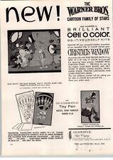 1962 Paper Ad Warner Bros Cartoon Road Runner Elmer Fudd Wile E Coyote