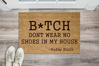 Personalised Genuine Coir Door Mat / Heavy Duty Home Entrance Matting Large
