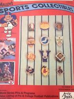 Malloy's Sports Collectibles Magazine World Series November 1991 120818nonrh