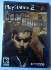 DEAD TO RIGHTS PS2 PLAYSTATION TWO EDIZIONE ITALIANO NUOVO
