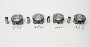 Set of 4 Pistons for Peugeot 207, 3008 & 5008 1.6 VTi 5FW EP6