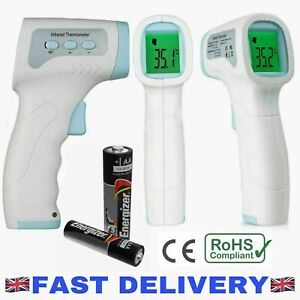 Adult/Baby Non-Contact Infrared Forehead Thermometer Temperature Measurement Gun