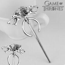 USA Game of Thrones inspired Daenerys Targaryen Dragon Brooch Pin Cosplay Badge