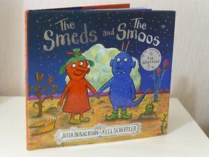 SIGNED 1st Print The Smeds And The Smoos Julia Donaldson Axel Scheffler 2019 UK