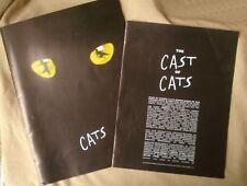 CATS Souvenir Program Musical Brochure (1998)