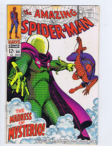 Amazing Spider-Man #66 Marvel 1968 The Madness of Mysterio  !