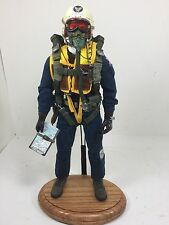 1/6 USAF BBI KOREAN WAR F-86 SABRE FIGHTER PILOT PARACHUTE RC DRAGON DID 21 WW2
