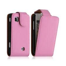 Housse étui coque pour Samsung Wave 575 S5750 couleur rose pâle