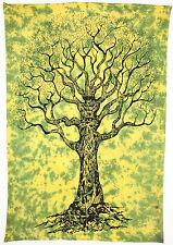 Indian Tree of Life Tapestry Wall Hanging Art Decor Bedspread Mandala Star NEW