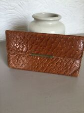 Lovely Vintage Tan Leather Purse/Wallet #3398