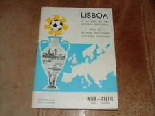 More details for 1967 european cup final celtic v inter milan original vg condition