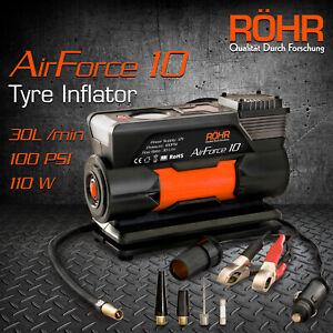 ROHR 12v Car Tyre Inflator 100PSI Portable Air Compressor for Cars, Bikes, Balls