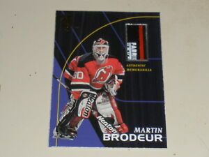 1998-99 Be A Player All-Star Game Used Stick #S8 Martin Brodeur /100