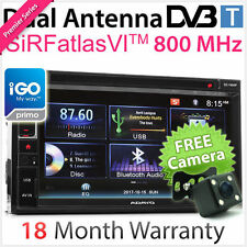 Double 2 DIN Car DVD GPS Player DVB-T MPEG-4 Digital TV Stereo Radio USB MP3 OZ