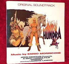 OST LP HUNDRA ENNIO MORRICONE 1984 MACOLA SEALED MINT