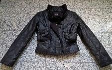 coole schwarze Jacke Übergangsjacke von TAIFUN Gr. 34