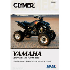 Yamaha motorcycle manuals literature ebay clymer m280 2 service shop repair manual yamaha raptor 660r 2001 2005 fandeluxe Images