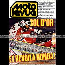 MOTO REVUE N°2525 HONDA RSC 1000 DOMINIQUE SARRON ★ SPECIAL BOL D'OR 1981 ★