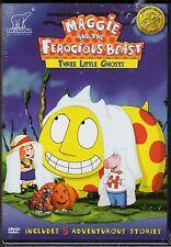 MAGGIE & FEROCIOUS BEAST-3 LITTLE GHOSTS-Parents Choice Gold Award Winner-DVD