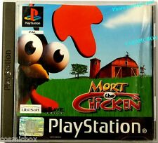 MORT the CHICKEN jeu PlayStation 1 console Sony psx ps1 ps2 ps 2 complet testé
