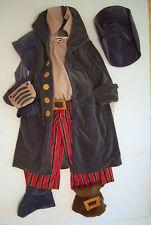 NWT Disney Store Treasure Planet M 7/8 John Silver Cyborg Pirate Plush Costume