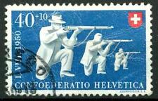 SWITZERLAND - SVIZZERA - 1950 - Pro Patria. Sport diversi - 40 + 10 c., Tiratori