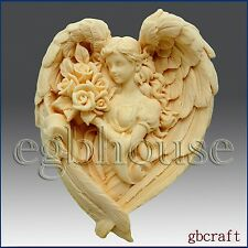 2D Soap Silicone Mold – Angel of the Seasons- Spring