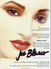 2000 magazine Advertisement, Joe Blasco Cosmetics, lovely face!  050814