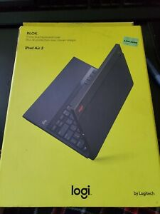 Logitech Blok UltraThin Keyboard Cover Stand Case For ipad air 2