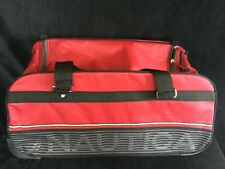 Nautica Luggage Seaside 26″ Pop Up Wheeled  Red Duffle Bag