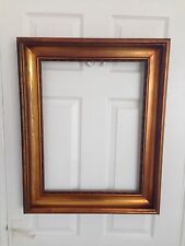 Large Antique Chunky Gold Victorian Picture Frame