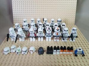 21 GENUINE LEGO Starwars Minifigures Bundle Storm Clone Troopers General 5002938