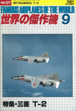 KOKU FAN FAOW 127 MITSUBISHI T-2 JASDF JET TRAINER  BLUE IMPULSE  AGGRESSOR SQN