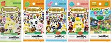 Nintendo Animal Crossing amiibo card pack 1st 2nd 3rd 4th Plus series Japan NEW
