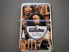 THE GODFATHER STAR LIGHTER MAFIA ITALIAN GANG WAR BRANDO & EXTRA ZIPPO FLINTS