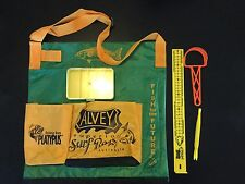 Alvey Wading Bag Green and Gold B1201f