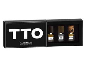 Nasomatto TTO perfume 3*4ml (DURO + SILVER MUSK + BARAONDA) 100% Authentic
