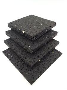 (18,50€/m²) Terrassenpad 6 mm 25 St./Pack Gummigranulat Pads Bautenschutzmatte